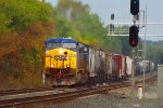 CSX Q380 rams through the CP-VO sector