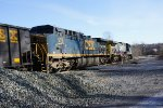 CSX 550 and CSX 578 on her way