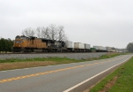 NS NB intermodal and autoracks