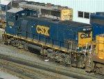 CSXT EMD MP15T 1239