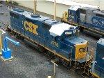 CSXT EMD GP38-2's 2776 & 2740