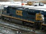 CSXT GE C40-8 7588