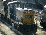 CSXT EMD MP15AC 1180