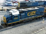 CSXT EMD GP15-1 1554