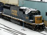 CSXT EMD SD50-2 8663