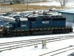 HLCX EMD SD40-2 8147
