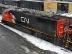 CN EMD SD70I 5604