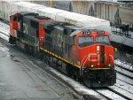 CN EMD SD70I 5604 & GE C44-9W 2649