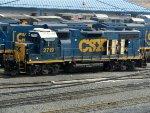 CSXT EMD GP38-2 2719