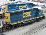 CSXT EMD GP38-2S 6157
