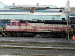 MBTA EMD GP40MC 1119