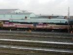 MBTA EMD GP40MC's 1129 & 1119