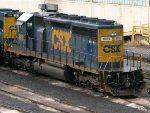 CSXT EMD SD40-2 8851
