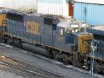 CSXT EMD SD60 8717