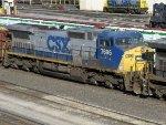 CSXT GE C40-8W 7696