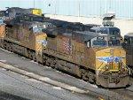 UP GE AC4400CW-CTE's 5961 & 5665