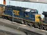 CSXT EMD SD40-2 8846