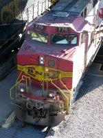 BNSF GE C44-9W 770