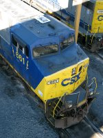 CSXT GE AC6000CW 661
