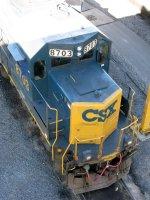 CSXT EMD SD60 8703