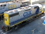 CSXT EMD GP38-2 2809