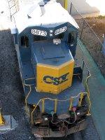 CSXT EMD SD40-2 8873