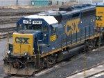 CSXT EMD GP40-2 6980