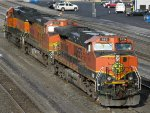 BNSF GE C44-9W's 982 & 4957 with HLCX EMD SD40-2 8040
