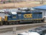CSXT EMD GP40-2 6232