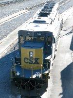 CSXT EMD SD40-3 4023