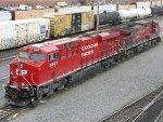CP GE ES44AC 8907 & GE AC4400CW 9546
