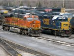 BNSF & CSXT Power