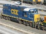 CSXT EMD GP38-2 2634