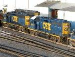 CSXT EMD GP40-2's 6094 & 6242