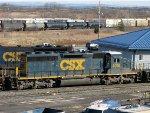 CSXT EMD SD40-3 4016