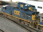 CSXT GE ES40DC 5486
