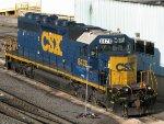 CSXT EMD SD40-2 8476