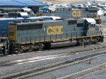 CSXT EMD SD50-2 8509
