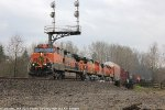 BNSF 964 leads the M-LYDVBT