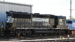 NS 7020 sits in Glenwood Yard