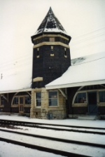 The depot tower
