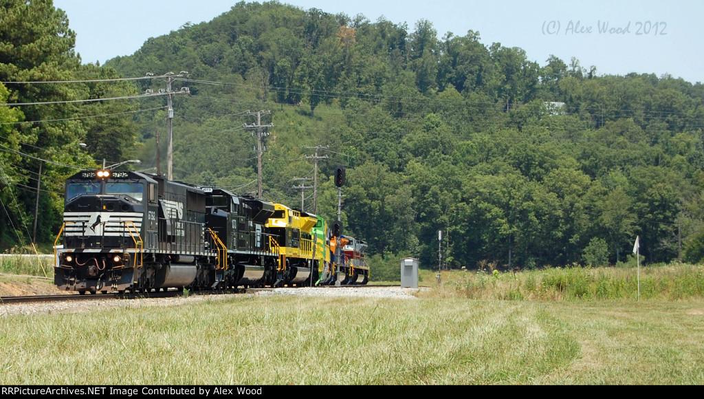 NS 961 at Clinton