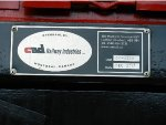 CP EMD SD60M 6260's rebuild plate