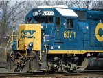 CSXT EMD GP40-2 6071