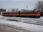 Resting in the main yard at Wells, MI  1-20-12