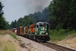 BNSF 3135 eastbound with the local.