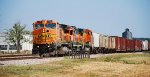 The BNSF Local brings the A&M interchange traffic to Monett
