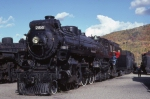 "Canadian Pacific Hudson #2816, ""The Empress"" back when Steamtown was in Bellows Falls, VT"
