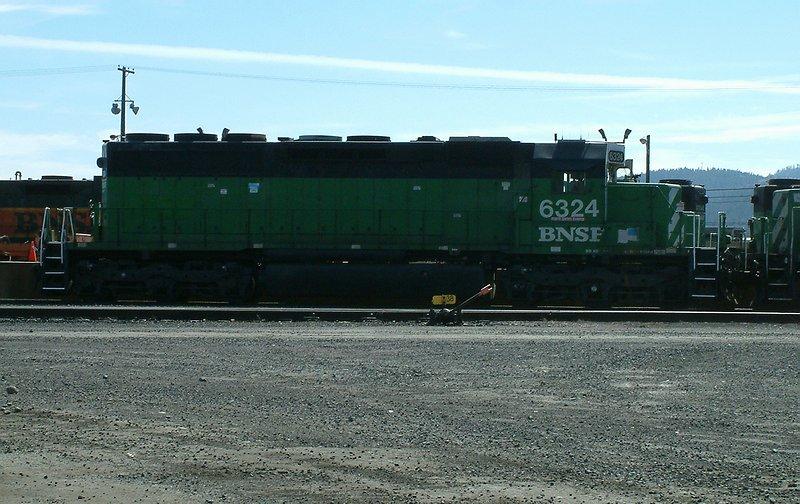 BNSF SD40 #6324