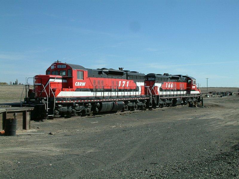 CBRW SD9s